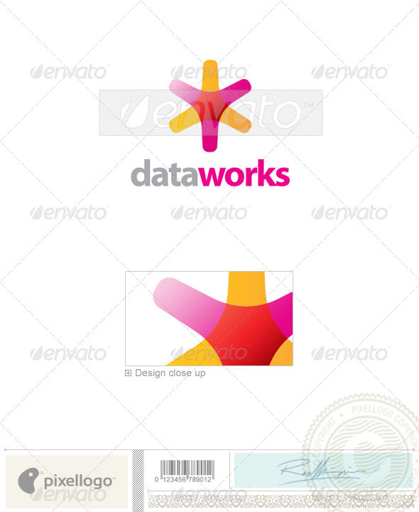 Print & Design Logo - 33 - Vector Abstract