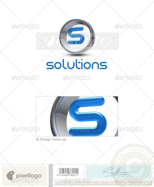 S Logo - 3D-288-S - Letters Logo Templates