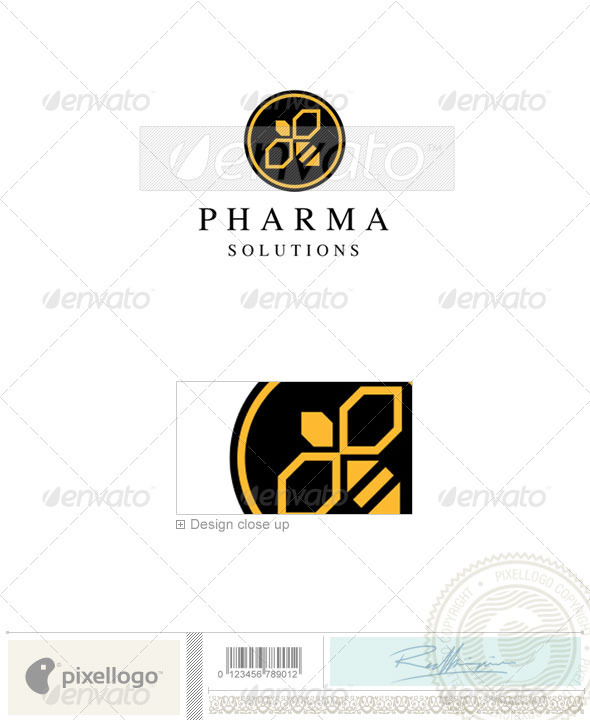 Industry & Science Logo - 753 - Vector Abstract
