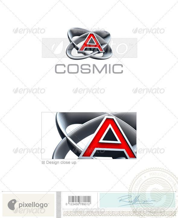 A Logo - 3D-348-A - Letters Logo Templates