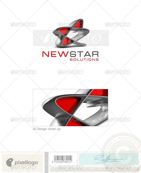 Business & Finance Logo - 3D-294 - 3d Abstract