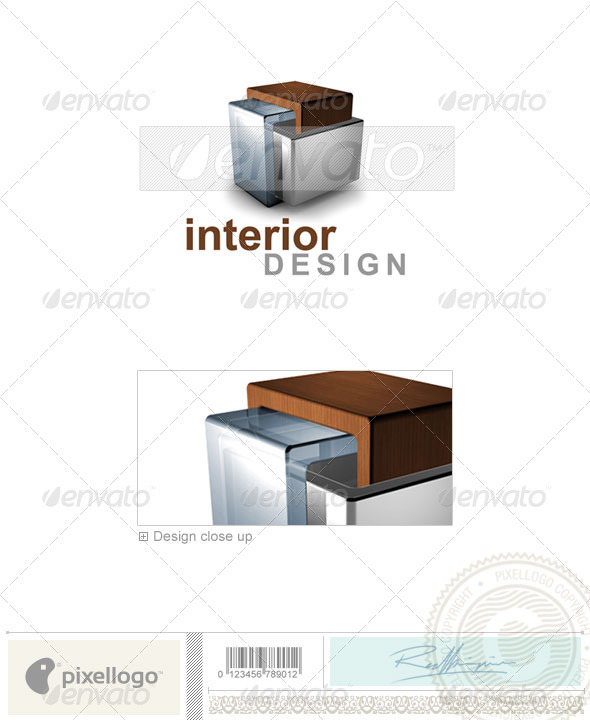 Home & Office Logo - 3D-484 - 3d Abstract
