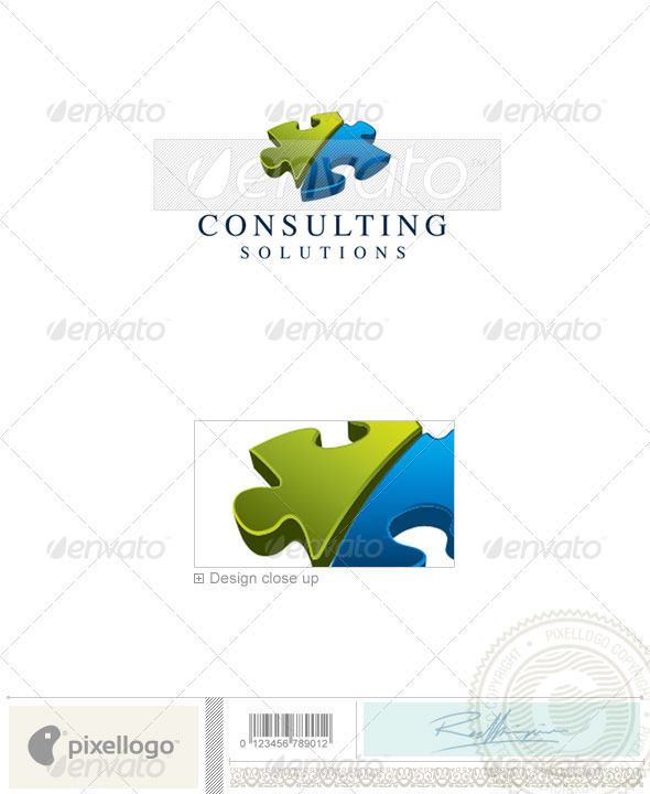 Business & Finance Logo - 1827 - Objects Logo Templates