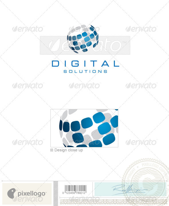 Communications Logo - 1600 - Vector Abstract