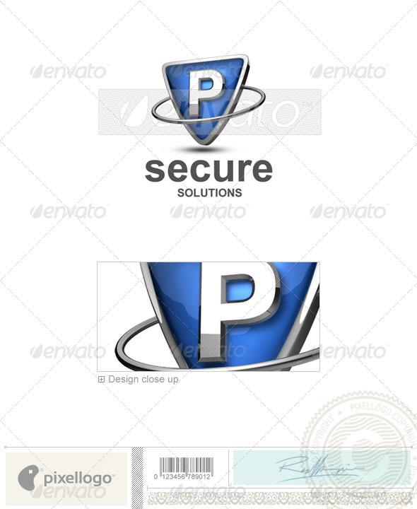 P Logo - 3D-285-P - Letters Logo Templates