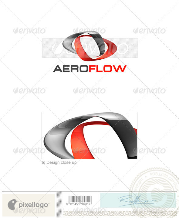 Business & Finance Logo - 3D-378 - 3d Abstract
