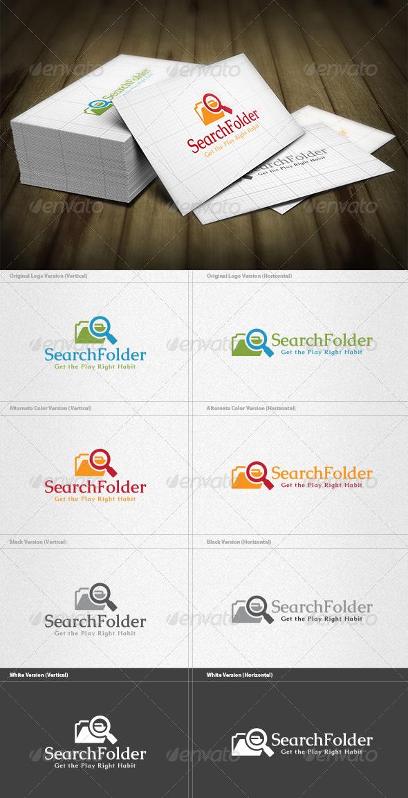 Search Folder Logo - Symbols Logo Templates