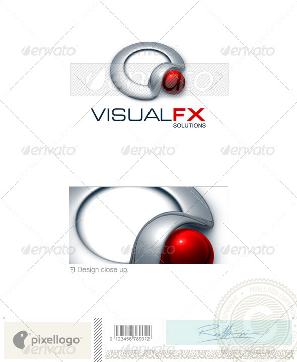 Technology Logo - 3D-312 - 3d Abstract