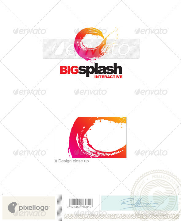 Print & Design Logo - 2093 - Vector Abstract