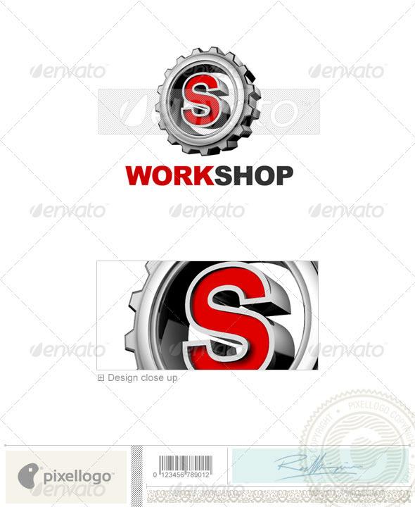 S Logo - 3D-292-S - Letters Logo Templates