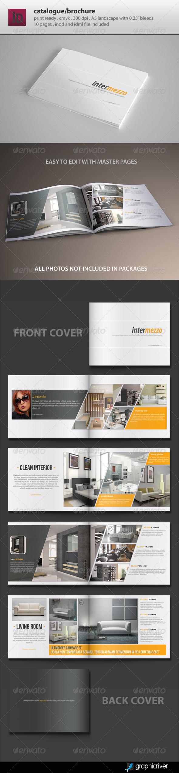 Catalogue / Brochure Template - Catalogs Brochures