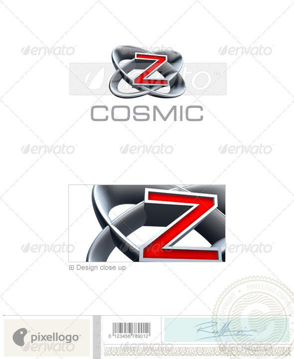 Z Logo - 3D-348-Z - Letters Logo Templates