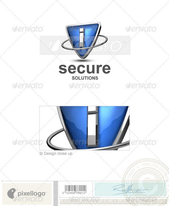 I Logo - 3D-285-I - Letters Logo Templates
