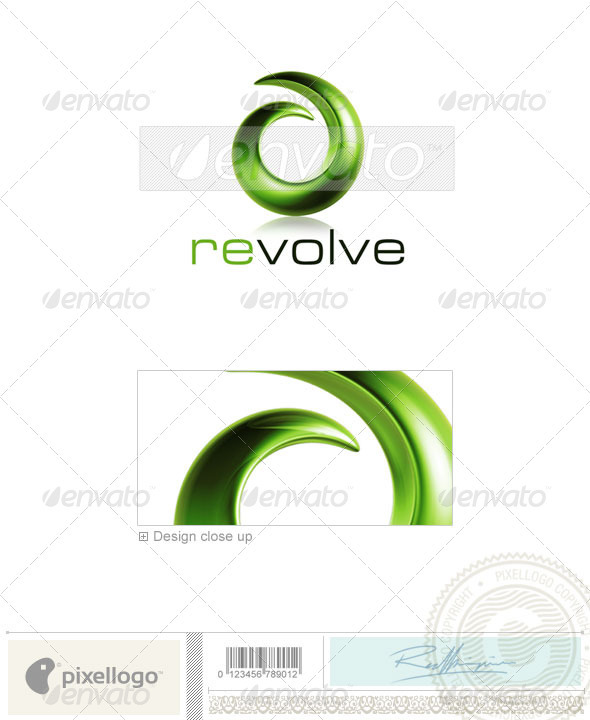 Print & Design Logo - 3D-452 - 3d Abstract
