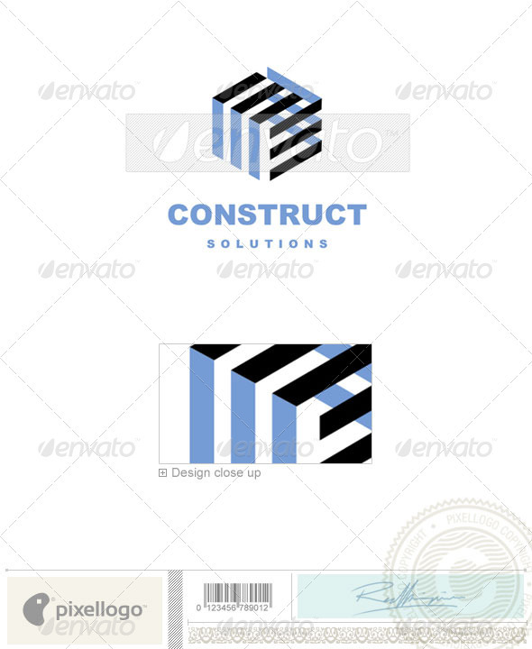 Home & Office Logo - 506 - Vector Abstract