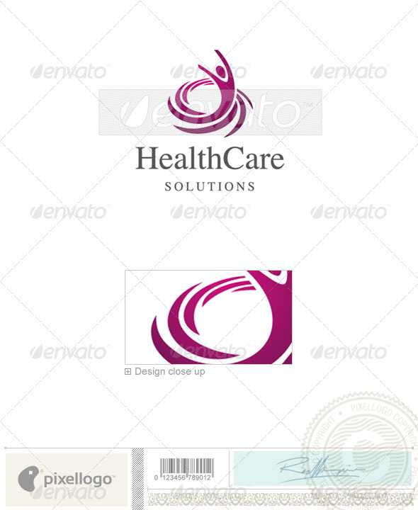 Industry & Science Logo - 2138 - Vector Abstract