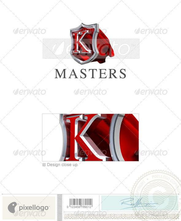 K Logo - 3D-259-K - Letters Logo Templates