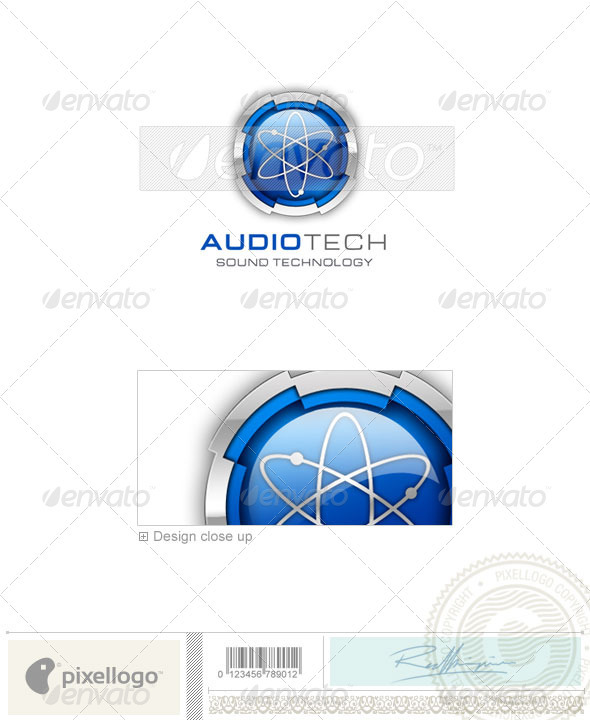 Technology Logo - 3D-95 - 3d Abstract