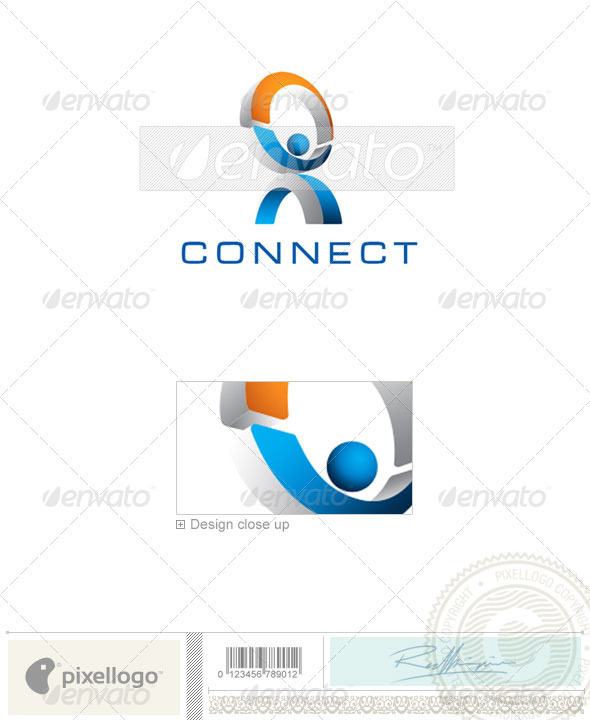 Communications Logo - 1730 - Humans Logo Templates