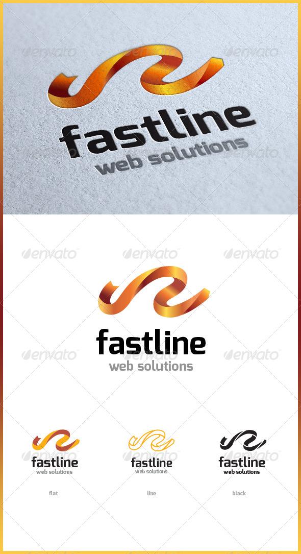 Fast line - Symbols Logo Templates