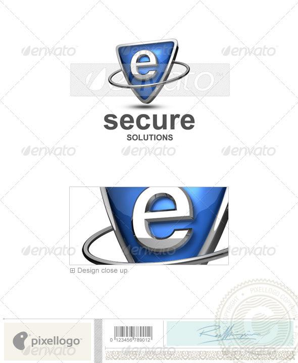 E Logo - 3D-285-E - Letters Logo Templates