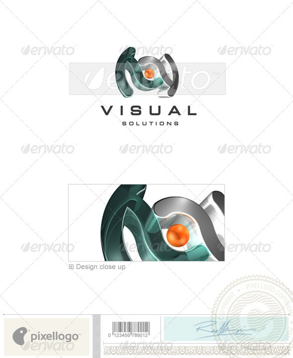 Activities & Leisure Logo - 3D-69 - 3d Abstract