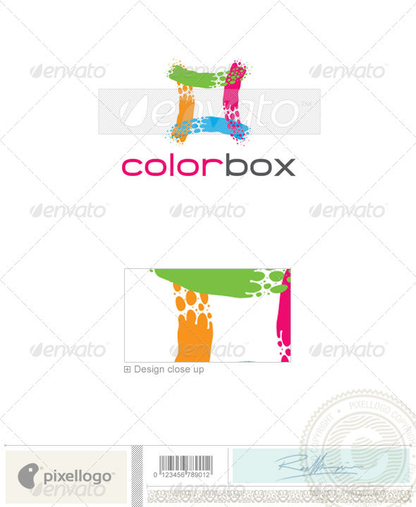 Print & Design Logo - 1868 - Vector Abstract