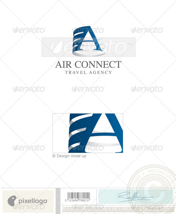 Transport Logo - 1588 - Letters Logo Templates