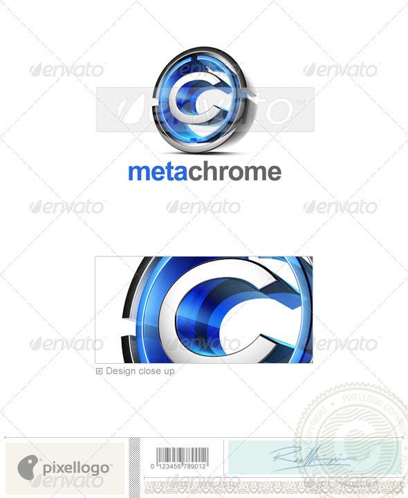 C Logo - 3D-476-C - Letters Logo Templates