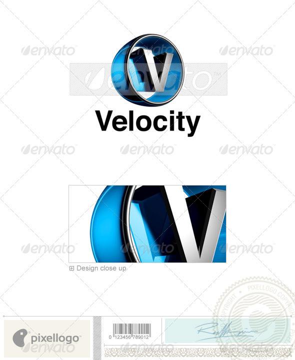 V Logo - 3D-438-V - Letters Logo Templates