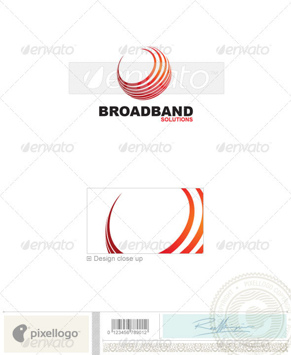 Communications Logo - 1836 - Vector Abstract