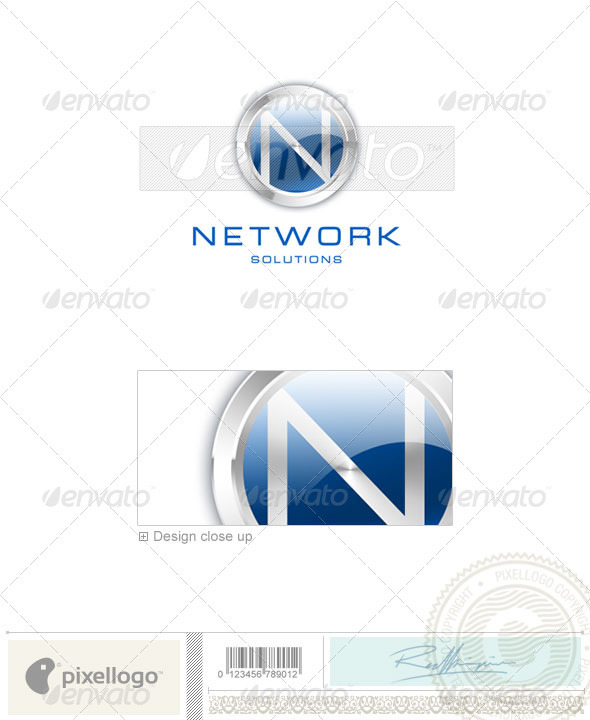 Business & Finance Logo - 3D-47 - 3d Abstract
