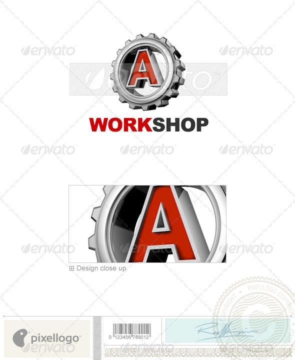 A Logo - 3D-292-A - Letters Logo Templates