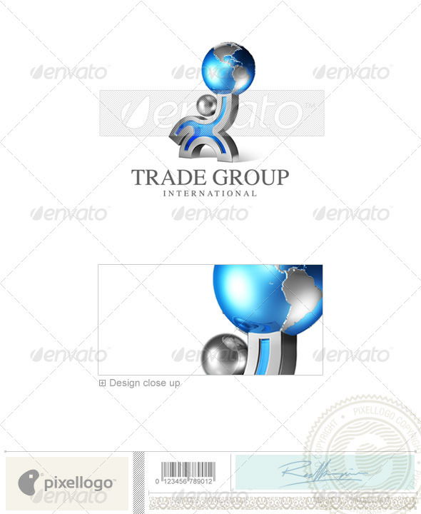 Business & Finance Logo - 3D-473 - 3d Abstract