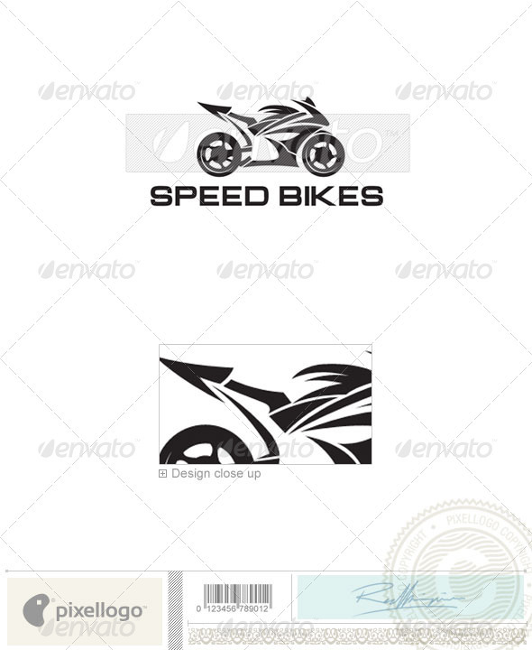 Transport Logo - 376 - Vector Abstract