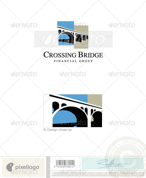 Business & Finance Logo - 1930 - Vector Abstract