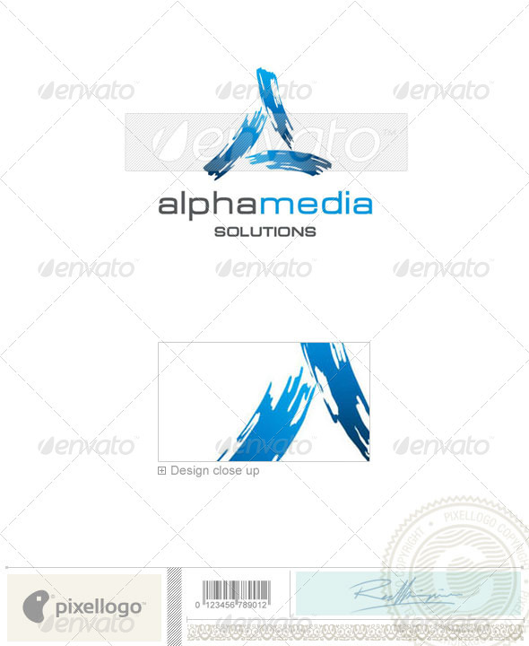 Print & Design Logo - 1879 - Vector Abstract