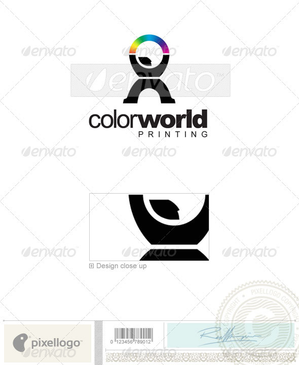 Print & Design Logo - 2213 - Vector Abstract