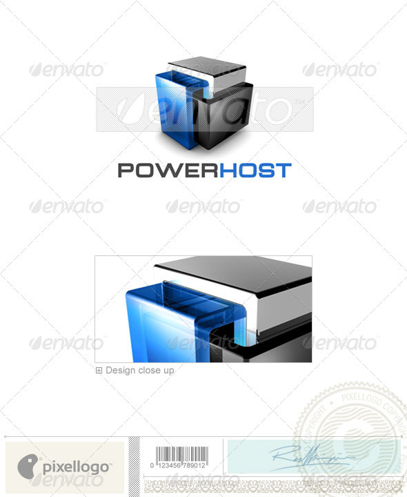 Technology Logo - 3D-461 - 3d Abstract