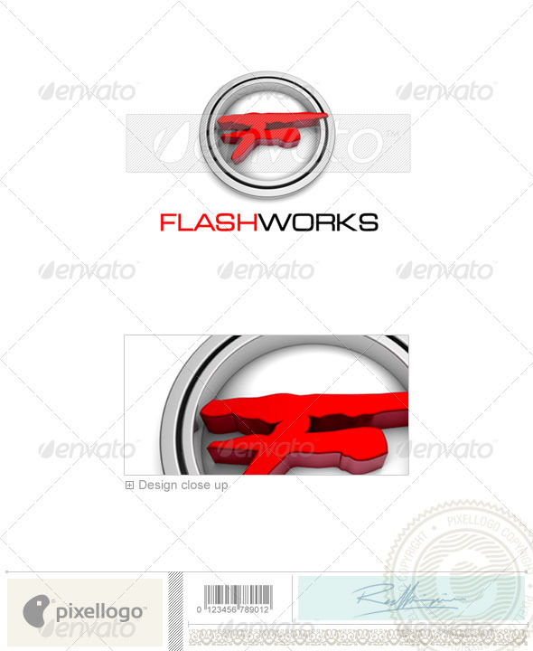 Print & Design Logo - 3D-381 - 3d Abstract