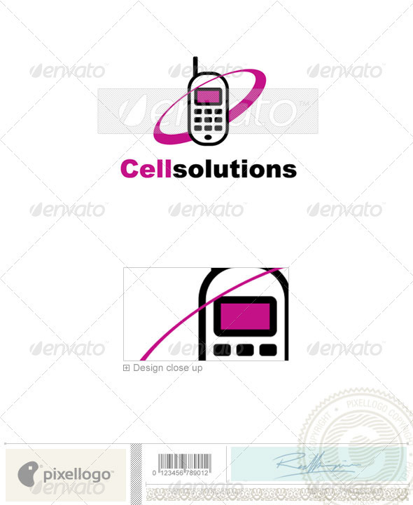 Communications Logo - 147 - Objects Logo Templates