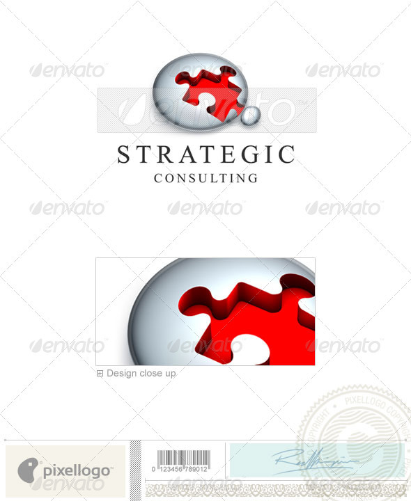 Business & Finance Logo - 3D-392 - 3d Abstract