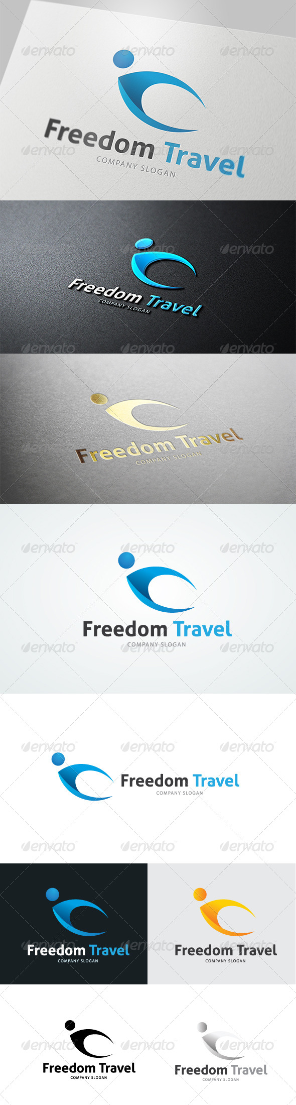 Freedom Travel  - 3d Abstract