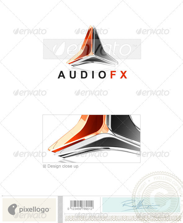 Activities & Leisure Logo - 3D-91 - 3d Abstract