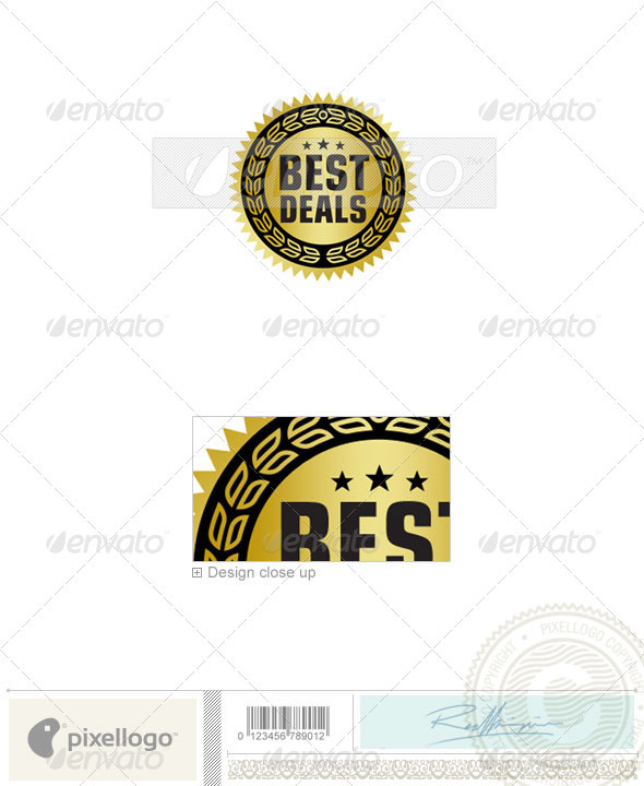 Business & Finance Logo - 2041 - Crests Logo Templates