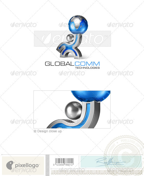 Business & Finance Logo - 3D-164 - 3d Abstract