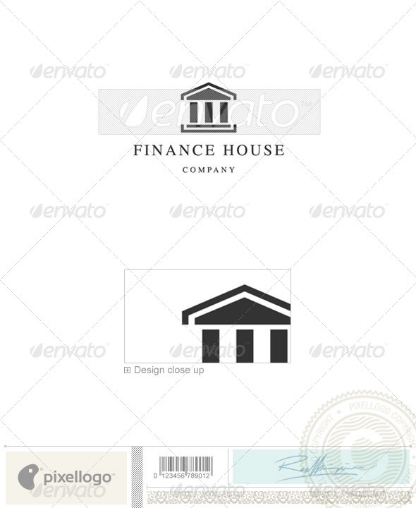 Business & Finance Logo - 663 - Vector Abstract