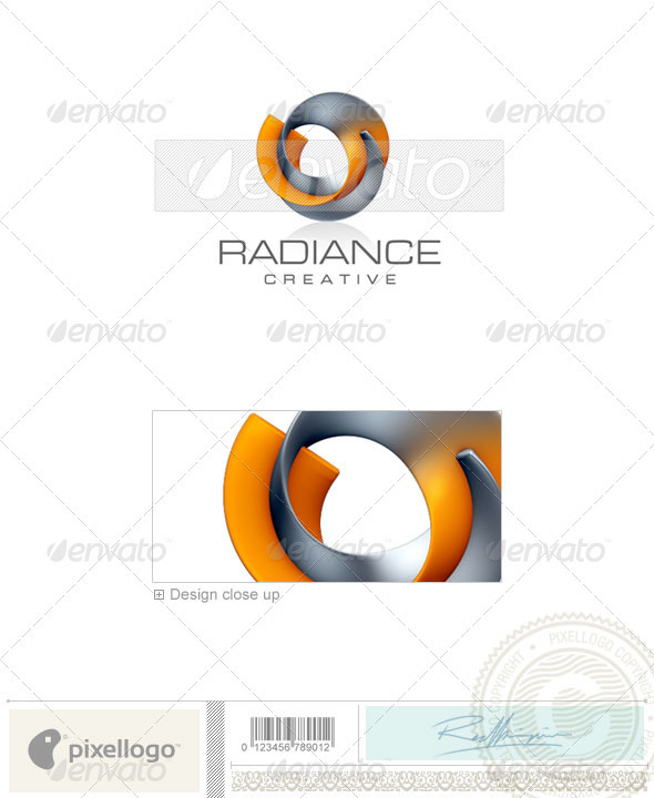 Activities & Leisure Logo - 3D-303 - 3d Abstract