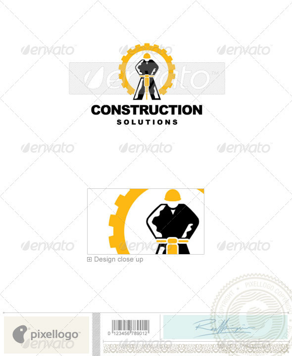 Home & Office Logo - 144 - Humans Logo Templates