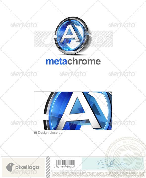 A Logo - 3D-476-A - Letters Logo Templates